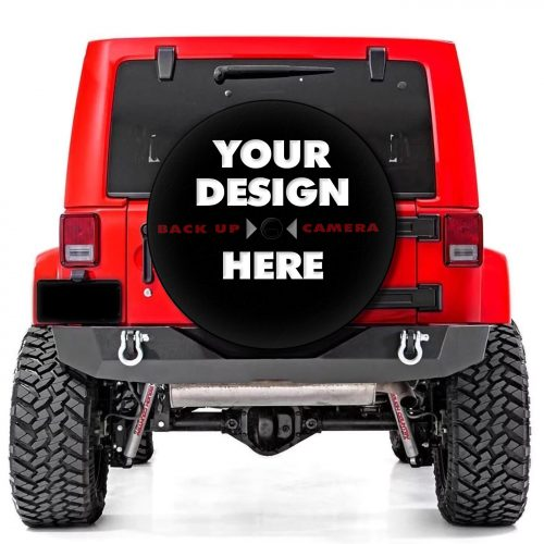 Custom Soft Tire Cover Jeep Product