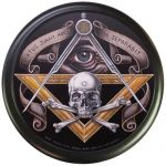 Freemasons Masonic Tire Cover