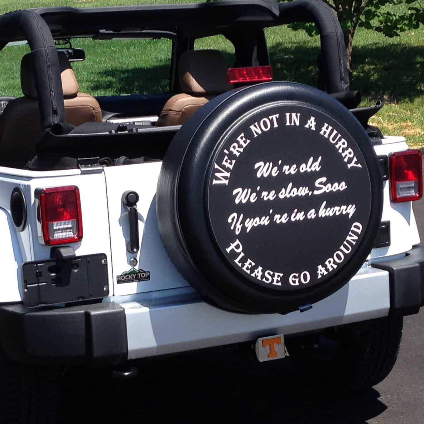 Funny Jeep Spare Tire Covers