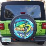 Funny Jeep Fish Design