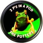 Funny frog tire cover