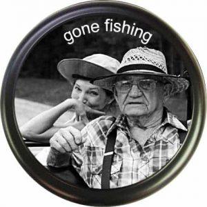 Grandpa's gone fishing!