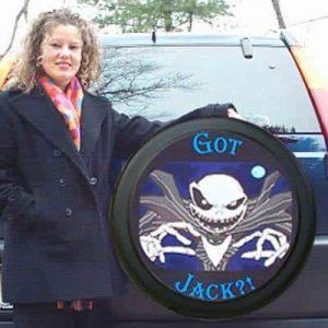 Got Jack? Funny Jeep Wrangler tire cover.