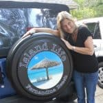 Island Life Tire Covers