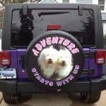 Jeep Adventure Tire Cover