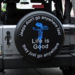 Life is Good Tire Covers