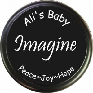 Inspirational message of peace, joy, and hope