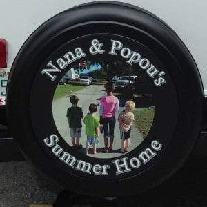 Best RV tire covers with your custom design