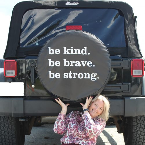 Be Kind Custom Soft Tire Cover