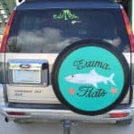 Spare tire covers for business