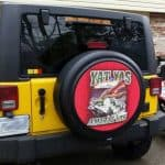 US Mariens military spare tire covers