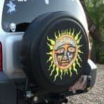 Folk Art Sun Face