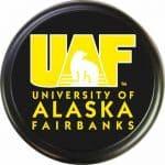 University of Alaska Fairbanks tire cover